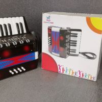 Zwarte mini Accordeon